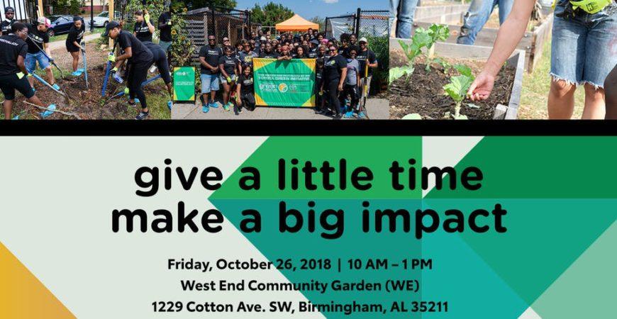 Toyota Green | Magic City Classic | Volunteer Day